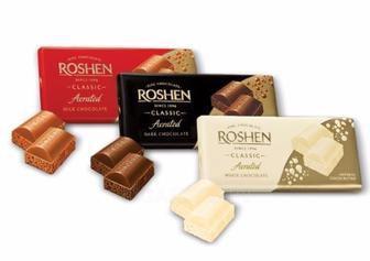 Шоколад пористий, Рошен, 85 г