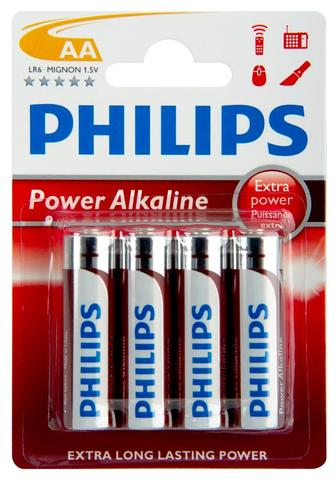 Батарейка Power Alk AAA Bli 4 Philips
