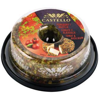 Крем-сир Castello з помідором і базиліком 125г