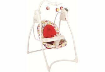 Кресло-качалка, шезлонг Кресло-качели Graco Lovin Hug Garden Friends с подключением к электросети (1L98GAFE)