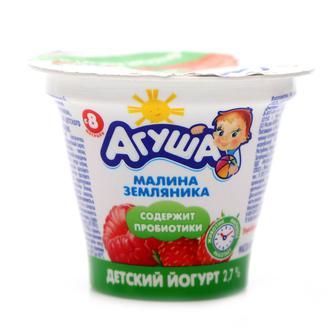 Йогурт 2,8%/2,9%, Агуша, 90г