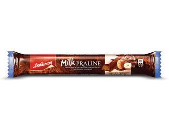 Шоколад молочний, Любимов, з горіховим праліне, 38 г