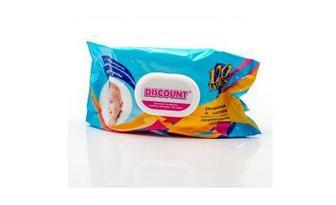Набор влажных детских салфеток Lili Discount