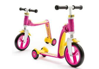 Самокат Scoot & Ride серії Highwaybaby + до 20кг (SR-216272-Pink-Yellow)
