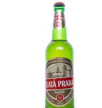 Пиво Zlata Praha світл. 5%, 0,5 л