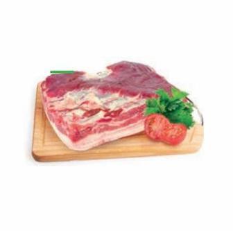 Грудинка свина на шкурі 1кг