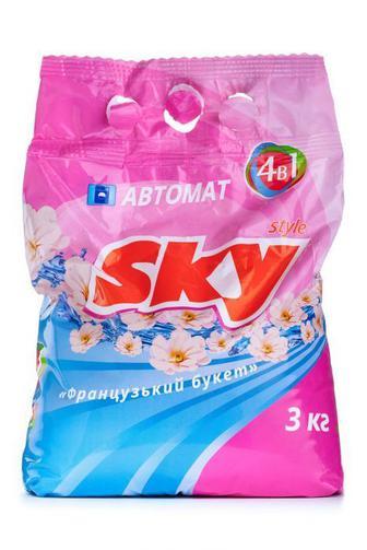 Стиральный порошок Sky Style автомат Универсальний, 3000г