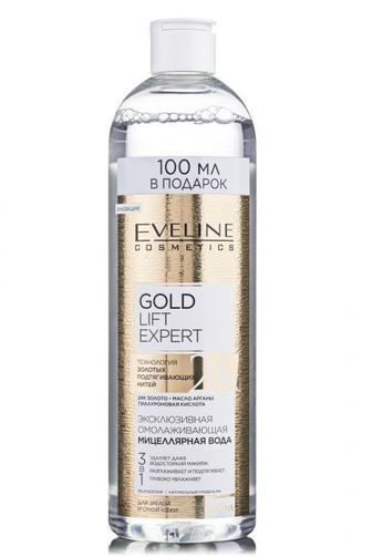 Мицеллярная вода GOLD LIFT EXPERT омолаживающая 500мл