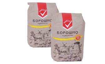 Скидка 18% ▷ Борошно пшеничне Варто 1800 г