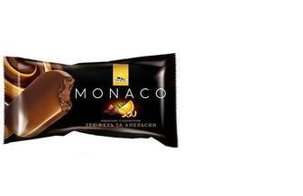 Морозиво Monako Карам-кунж гл.пал, Трюф-апел, 80 г, Три Ведмеді