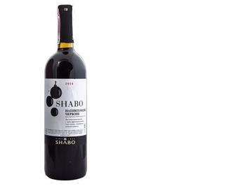 Вино Shabo Класіка Сапераві черв, сухе, 10-13,5%, 0,75л