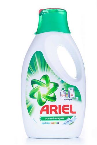 Гель для стирки ARIEL Горный источник, 1,3л