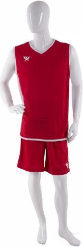 Форма баскетбольна Swift Lanzar 2XL червоний
