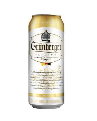 Пиво Premium Lager Grunberger 0,5л