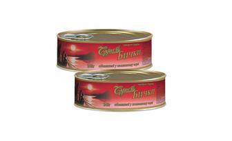 Бички обсмажені в томатному соусі Супой, 240 г