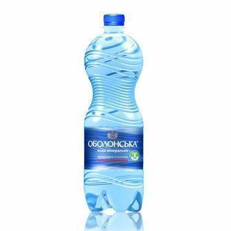 Вода мінеральна Оболонська 1л