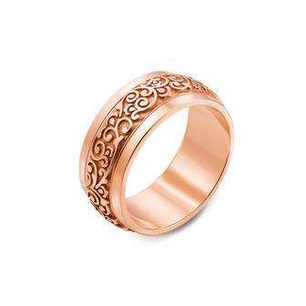Обручальное кольцо с алмазной гранью. Артикул 10128/3 Артикул 10128/3