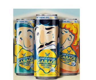 Пиво Хард-дринк Garage 0.5л