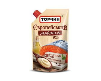 Майонез «Європейський» 72% жиру «Торчин» 300 г