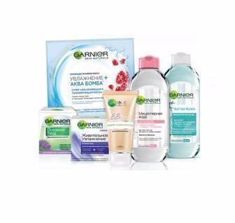 Засоби для догляду за шкірою обличчя Garnier Skin Naturals