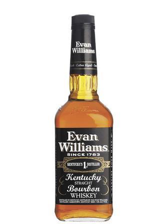 Виски бурбон Evan Williams Black 0.75л
