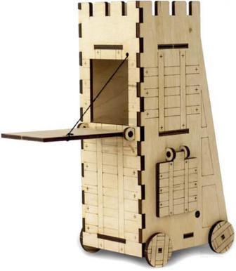 Дерев'яний 3D-конструктор Зірка Знаряддя турмова вежа 100727