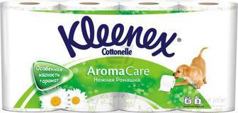 Туалетний папір Kleenex Aroma Care Ромашка 8 шт.