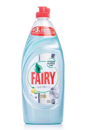Средства для мытья посуды Fairy Platinum 430/500 мл