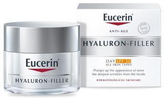 Крем Eucerin Hyaluron-Filler дневной против морщин для всех типов кожи SPF 30 50 мл