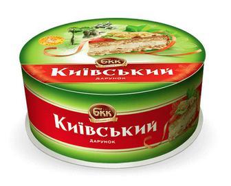 Торт БКК «Київський дарунок» з арахісом, 450г