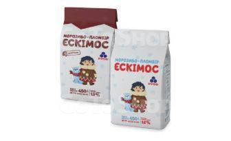 Морозиво Рудь ескімос без наповнювача 450г