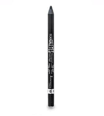 Олівець для Очей Rimmel м'який SCANDALEYES WATERPROOF відтінок 001 Black