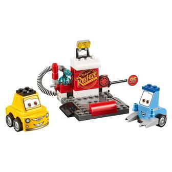 Конструктор Пит стоп Гвидо и Луиджи LEGO Juniors (10732)