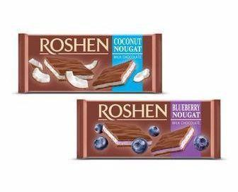 Шоколад з нугою Roshen, 90 г