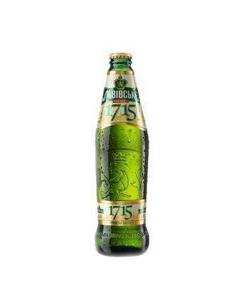 Пиво світле 1715 Львівське 0,45 л