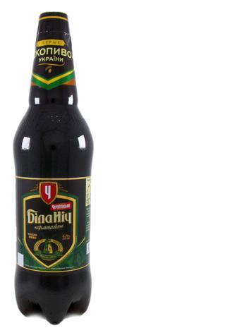 Пиво Чернігівське Біла ніч темне нефільтроване, 1 л