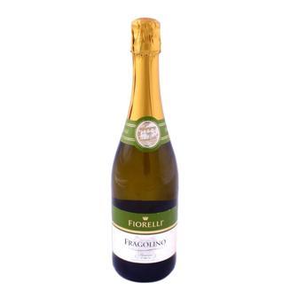 Напій винний ігристий Фраголіно б'янко, россо, песко Фіореллі 0,75л