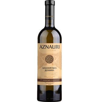 Вино біле або червоне напівсолодке Алазанська долина Aznauri 0,75 л