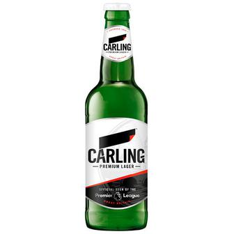 Пиво Carling світле, 0,5л