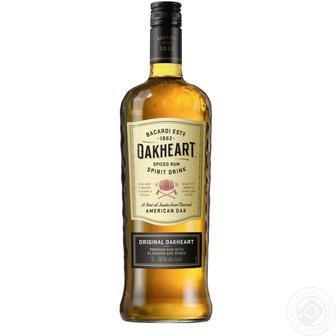 Скидка 40% ▷ Алкогольний напій Oakheart Bacardi 0,5л