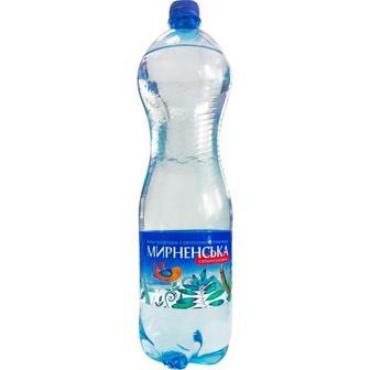 Вода мінеральна сильногазована 1,5л Мирненська