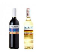 Вино белое/красное сухое, Don Simon, 0,75л