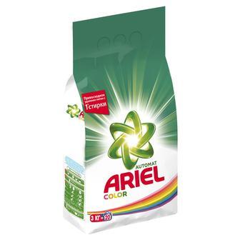 Стиральный порошок Ariel Color Автомат 3 кг
