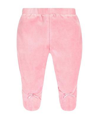 Рожеві велюрові штанці від Mothercare