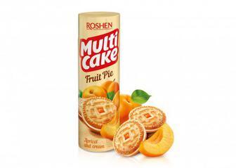 Печиво-сендвіч Multicake з начинкою абрикос-крем 195г