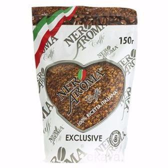 Кава розчинна Nero Aroma Exclusive 150 г