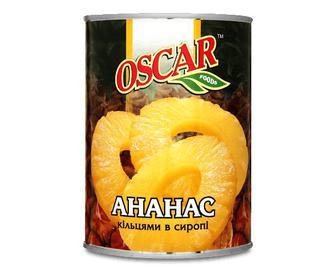 Ананаси Оscar кільця, 580мл
