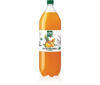 Напій безалкогольний сильногазований Мультівітамін або Вишня Бон Буассон 2 л