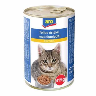 Консервований корм для тварин ARO  415г