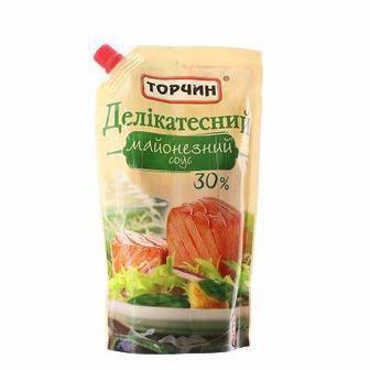 Майонезний соус Делікатесний 30% Торчин 300г